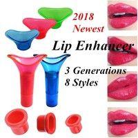 Trend Lip Enhancer Set : Lip Plumper Lip Enhancer Horny Lip Fuller Lips Suction for Magnificence Plumping Lips eight Kinds for U