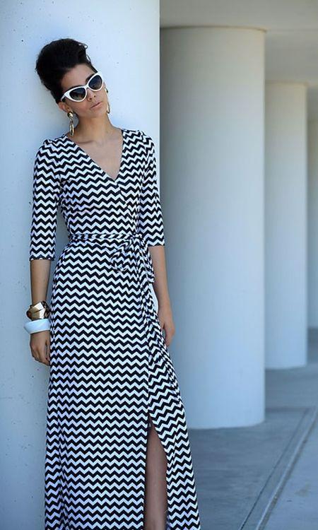 ShabbyApple.com   Zig Zag Stardust Dress
