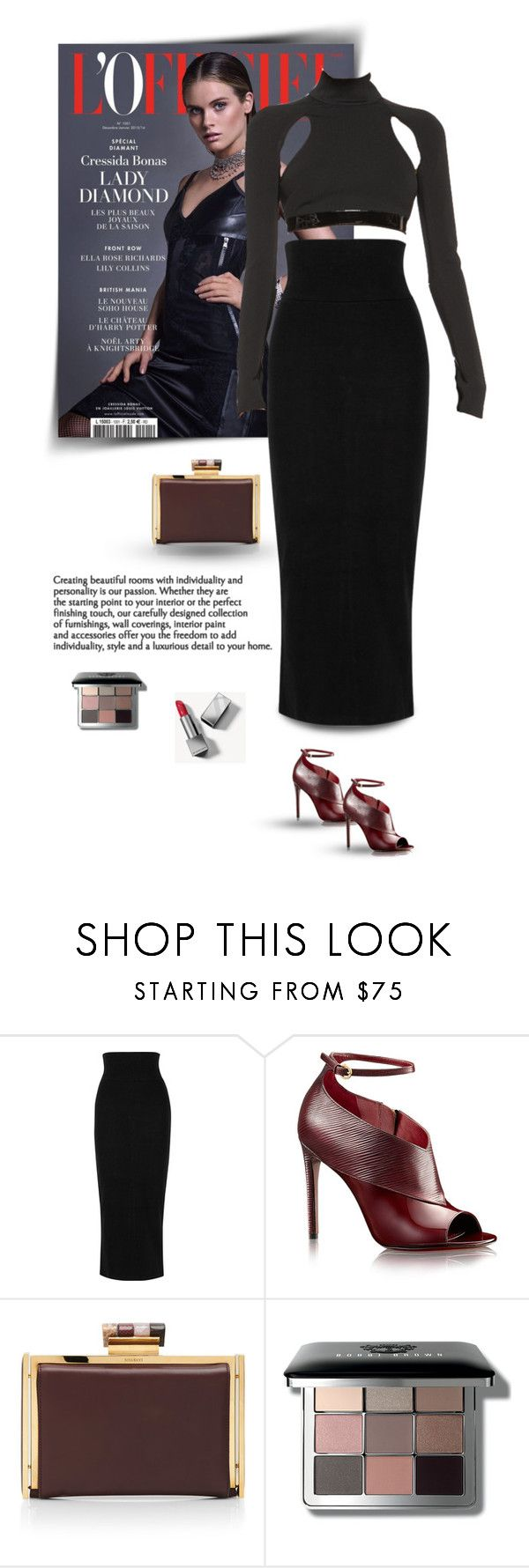 """25.04.2017"" by bliznec-anna ❤ liked on Polyvore featuring James Perse, Nina Ricci, Bobbi Brown Cosmetics, Burberry and polyvorefashion"