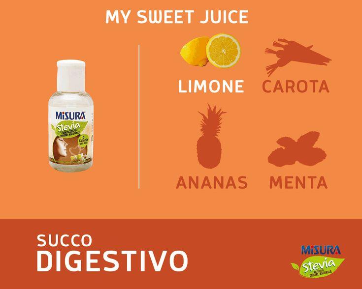 Appesantiti dalle Feste? Provate questo succo digestivo.  #juice #digestive #detox #stevia