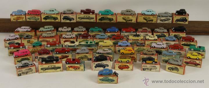 COLECCION DE 58 COCHES. MINI CARS. ANGUPLAS. ESCALA 1/86. 1950-1960. (Juguetes - Coches a Escala Otras Escalas )