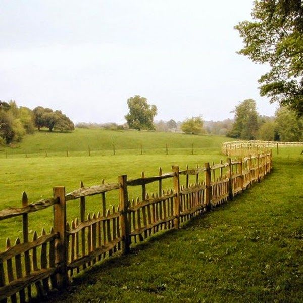 Dirk Mortier's hand made fences l Flemish countryside l Belgian Pearls