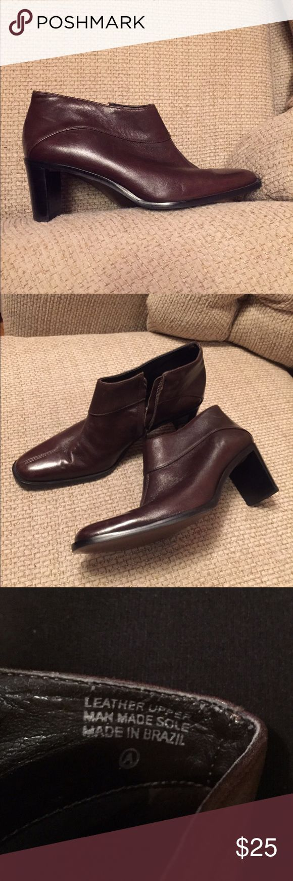 Women's Brown Ankle Boots Donnie Etienne Aigner Women's Brown Leather Ankle Boots, by ETIENNE AIGNER Brand new Ankle boots, Chic, Dressy, Classy! 80% off Brand New prices! Etienne Aigner Shoes Ankle Boots & Booties