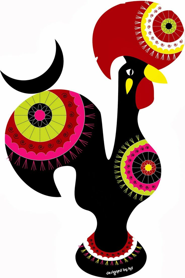 The iconic #portuguese rooster - Galo à quinta
