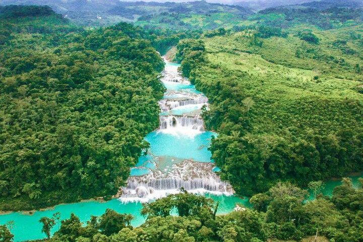 Cascadas Agua Azul, Chiapas, México