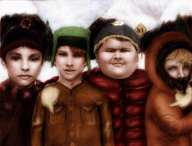 If the Cast of South Park Were in The Polar Express