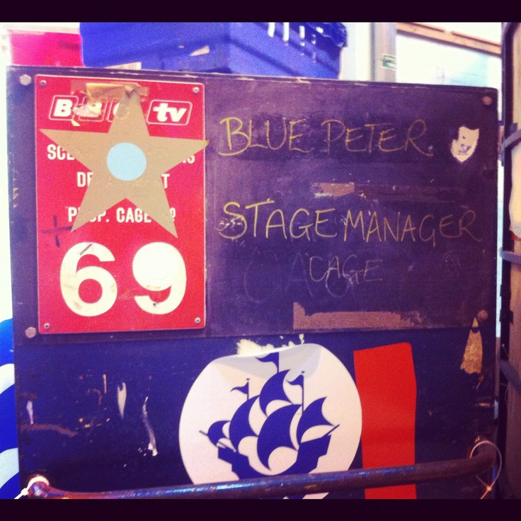 Blue Peter production boards