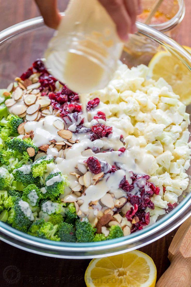 Creamy broccoli salad always gets rave reviews. Every bite of this creamy broccoli salad is coated in a honey-lemon dressing. Crisp, crunchy, chewy, tasty!