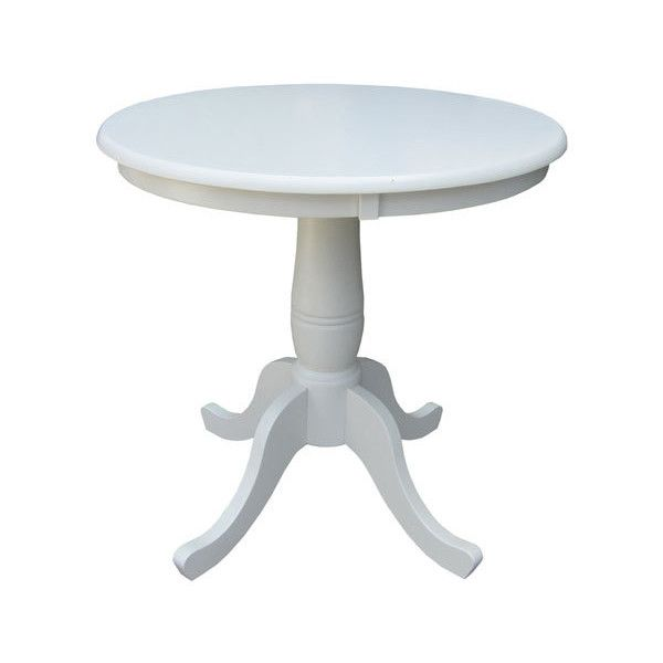 International Concepts 30 Inch Tall  30 Inch Round Top Linen White    200    liked on Polyvore featuring home  furniture  tables  dining tables    Best 25  Tall kitchen table ideas only on Pinterest   Tall table  . 32 Inch Tall Dining Table. Home Design Ideas