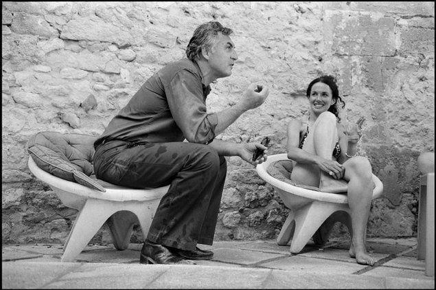 Rene Burri. FRANCE. Provence-Alpes-Côte d'Azur. Arles. 1976. Ernst HAAS and Mary Ellen MARK.