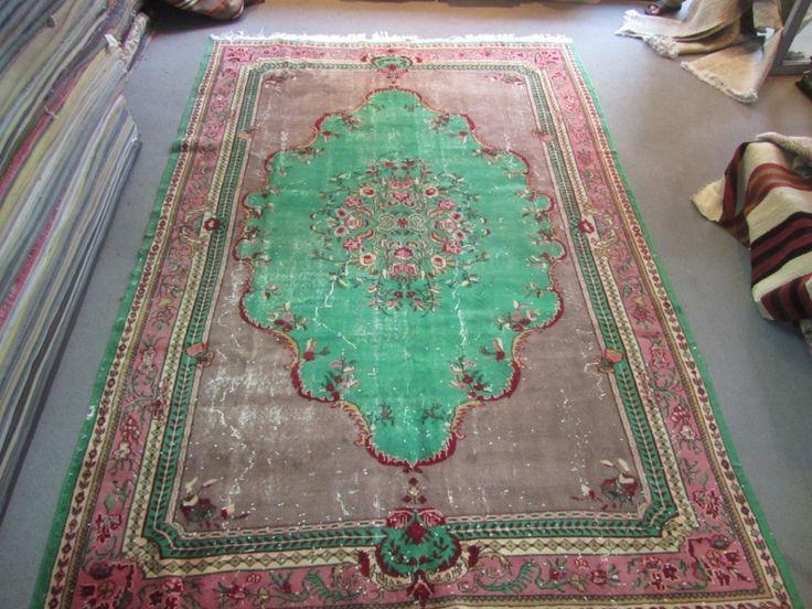 Isparta vloerkleed, antiek vloerkleed uit Turkije | Rozenkelim.nl - Groot assortiment kelim tapijten