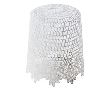 paralume per lampadario : Paralume per lampadario in cotone Lady - 20x18 cm