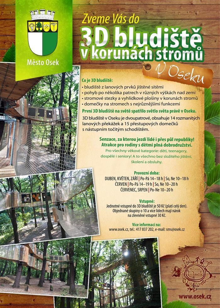 3D bludiště Severní Čechy