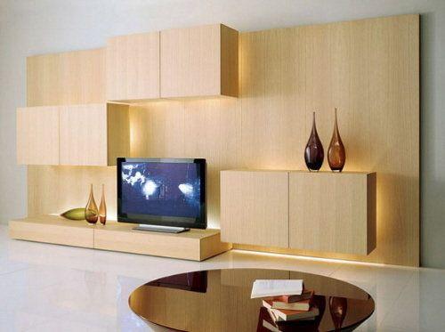 Modern TV Wall Unit - Bing Images