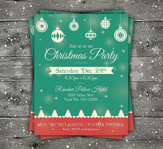 8 best Flyer images on Pinterest Flyer template, Flyers and Leaflets - christmas flyer template