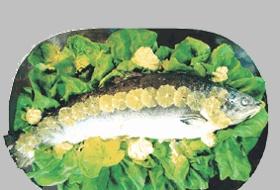 Salmone bollito - Virgilio Donne