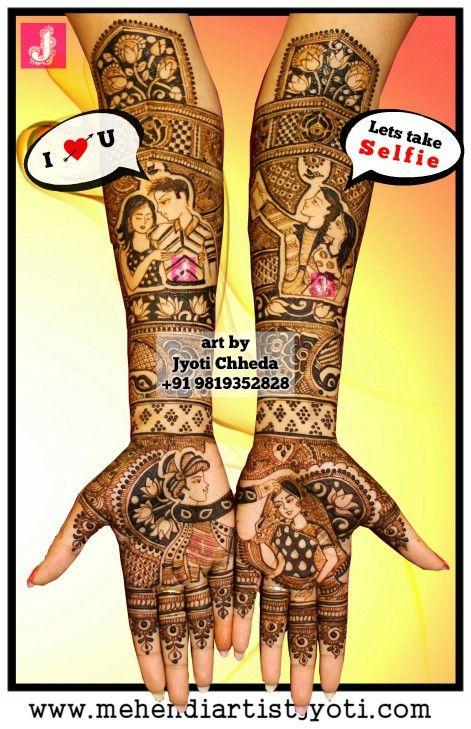 Jyoti Chhedas mehndi design gallery. Mehandi Art Designs done on different occasions.