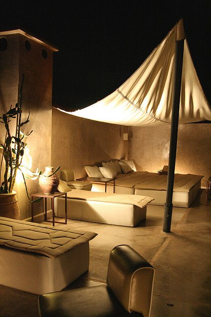 Rooftop of the Riad - Marrakech, Morocco
