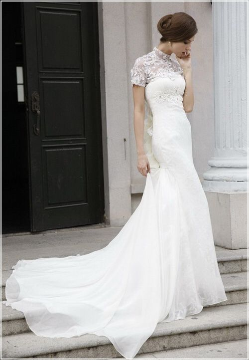 Turtle neck wedding dresses flower girl dresses for Best place to buy a dress for a wedding
