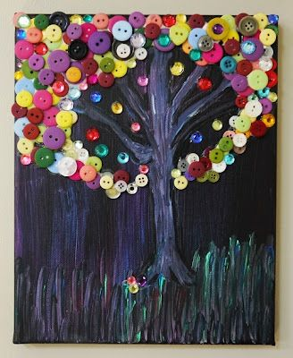 Beneath the Button Tree | The Art Annex