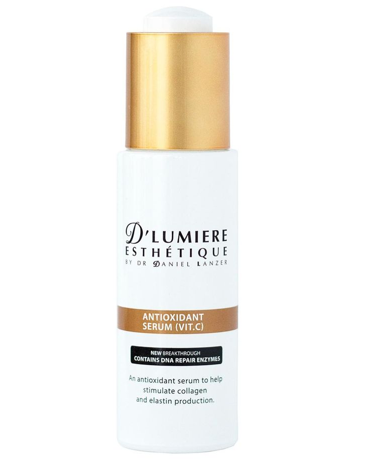 Our D'Lumiere Esthetique Vitamin C serum is super concentrated and features DNA repair enzymes for enhanced results. It fights to prevent free radical damage and is excellent for skin repair.  Make sure you head over to our website to shop it now!