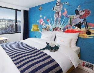 Das »Green Rooms« ist für ein Londoner Hotel nicht nur erstaunlich günstig – das Haus verleitet auch dazu, mal wieder ein Bild zu malen.