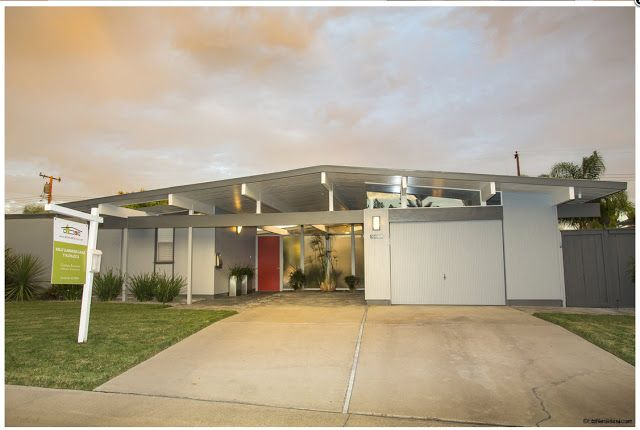 Eichler Characteristics Blank To The Street And Open