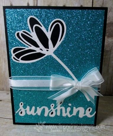 Bermuda Bay glimmer paper, Sunshine Whishes frenchiestamps.com