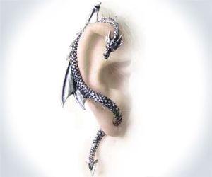 Dragon Wrap Earring: Renfest