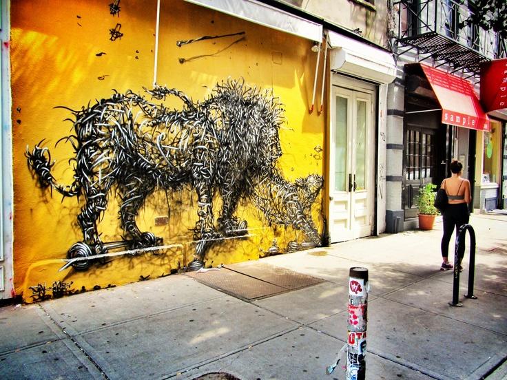 43 best Street Art NYC images on Pinterest | Street art, Urban art ...