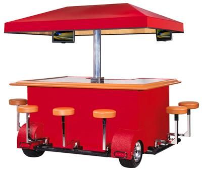 bar-on-wheels. lol saw this at Jimmy Buffet! awesome!