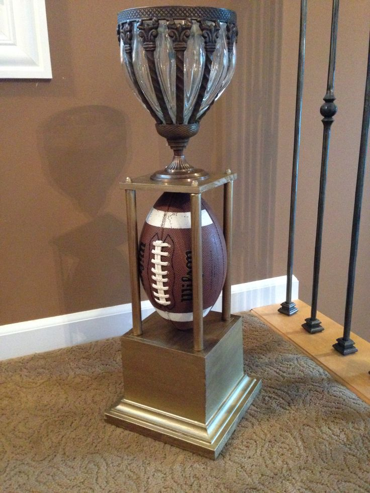 15 Best Images About Fantasy Football Trophy Diy On