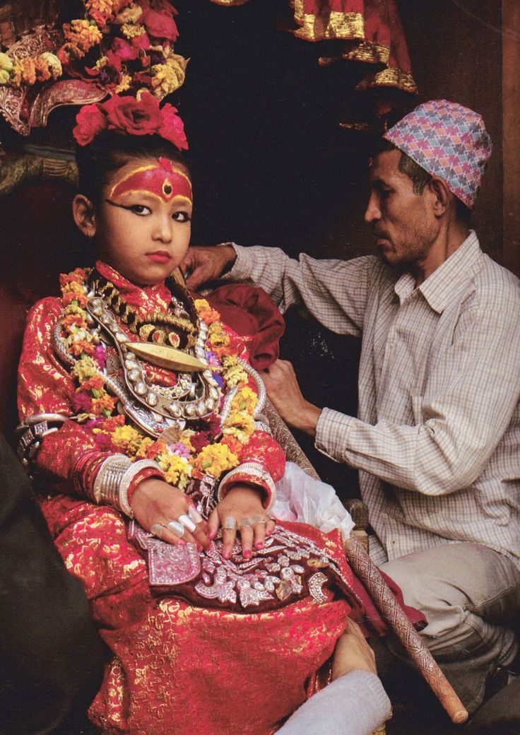 Kumari, The Living Goddess, Nepal