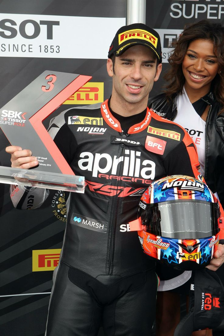 BE A RACER! www.bearacer.com #bearacer Marco #Melandri of Aprilia Racing Team 2014 #Aprilia #wsbk #sbk
