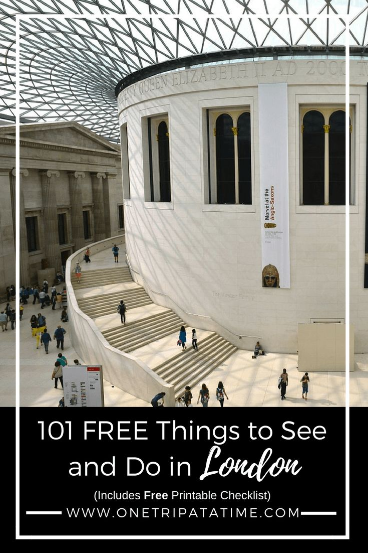 London doesn't have to be expensive. Read our list of 101 amazing things you can see, do and experience in the UK capital for FREE.
