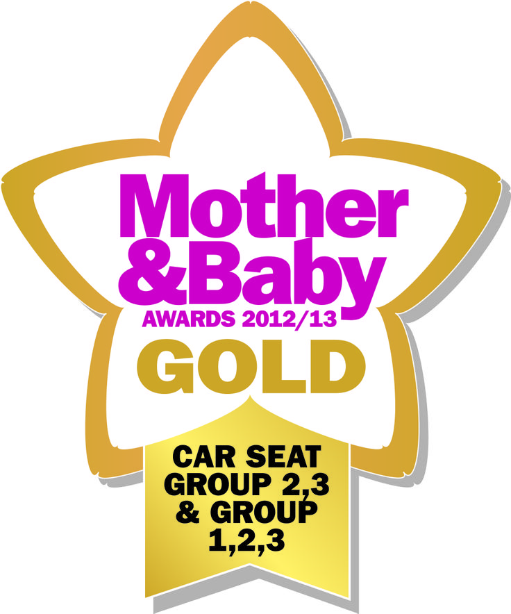The RECARO Monza Nova Seatfix is awarded Gold in the 2012/2013 Mother & Baby awards