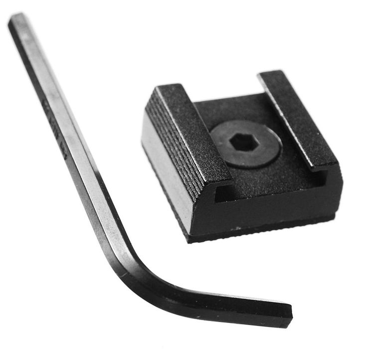 ALZO Cold Shoe Mount for Blackmagic Cinema Cameras and Pocket Cinema Camera