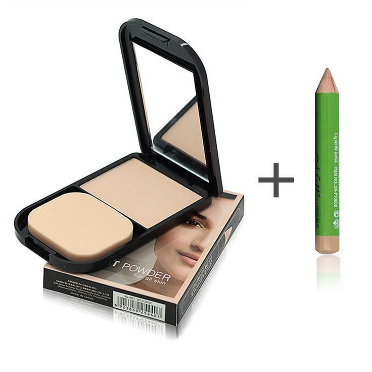 Face Foundation Base Makeup Matte Studio Fix Pressed Powder Palette + Concealer Pencil Pen + Puff Contour Nude Compact Powder #>=#>=#>=#>=#> Click on the pin to check out discount price, color, size, shipping, etc. Save and like it!