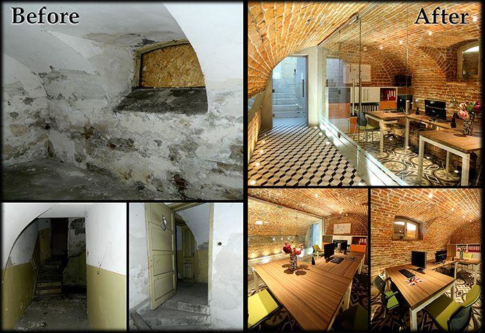 Birouri Noblesse Designist 1 Confiscate sau părăsite. Regăsite și salvate. Metamorfoze spectaculoase de case vechi, conace și fabrici din România.