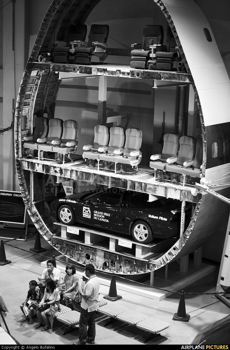 747 cross section