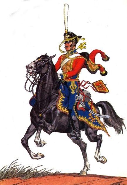 Гусарский лейб-гвардии рядовой