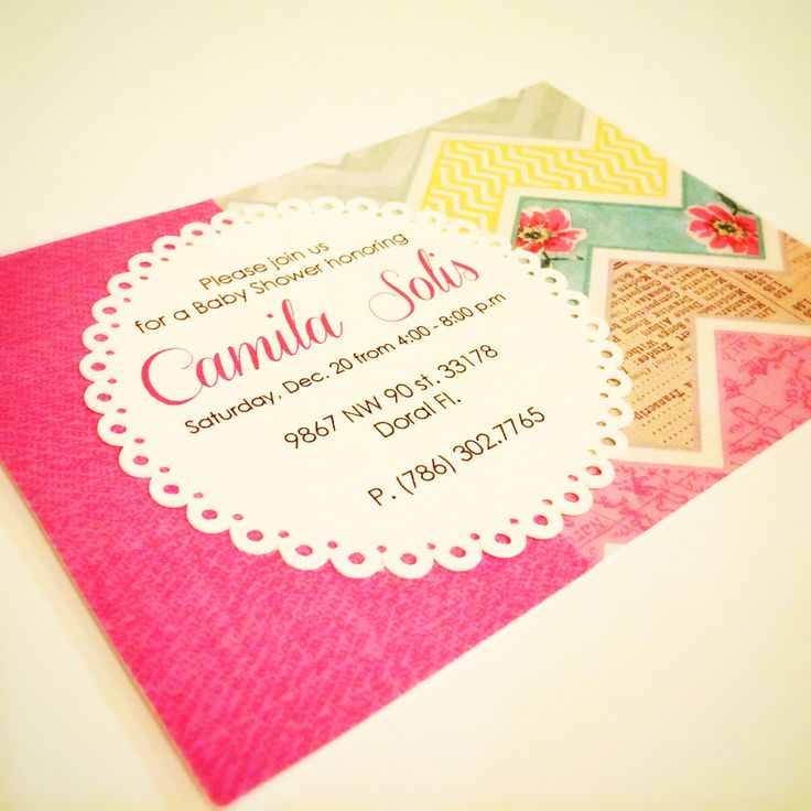 Card. Invitation.