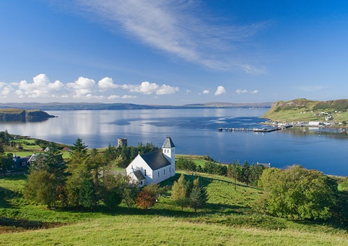 Uig Bay, Isle of Skye. I looked out on this view every day for a week and can't wait to go back