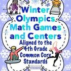 Your students will have a blast playing these Winter Olympics themed math games. All the games are aligned to the 4th grade Common Core Standards. ...