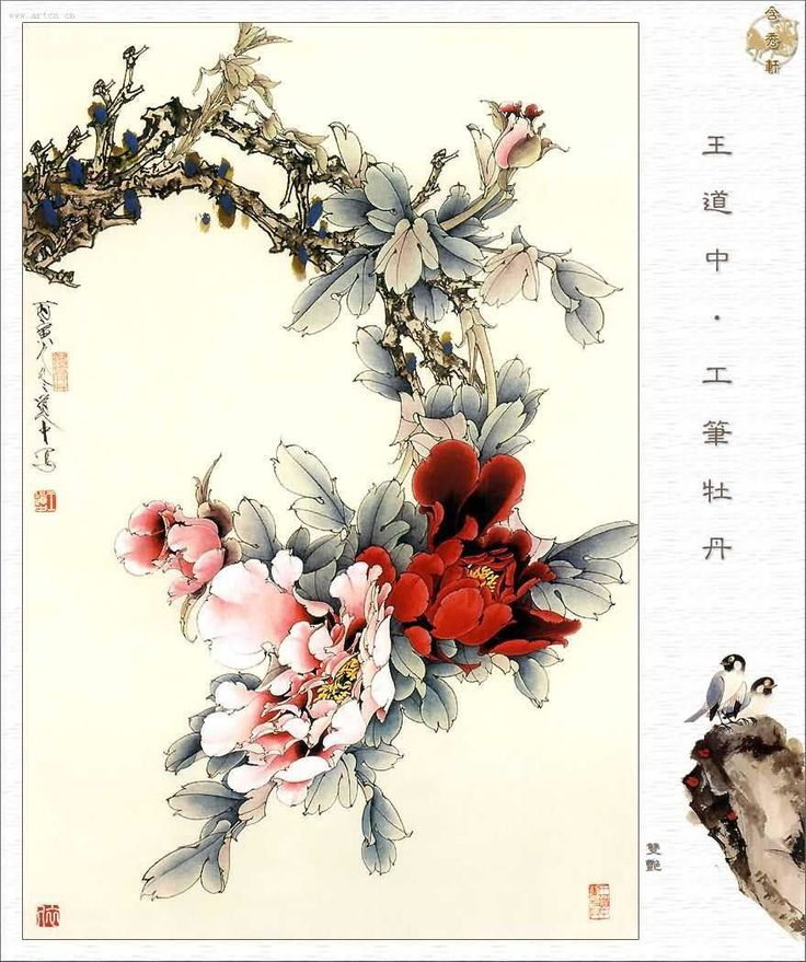chinese art | Traditional Chinese Flower-and-Bird Painting - Chinese learning| HSK ...