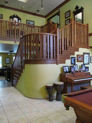 My Home & Garden Journal: Craftsman Staircase