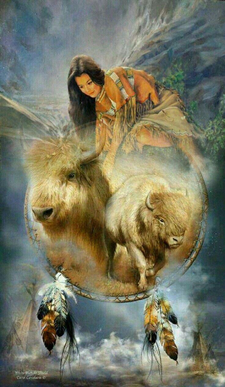 Spiritual buffalo