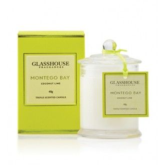 Miniature Triple Scented Candle (60g) from glasshousefragrances.com $39.95
