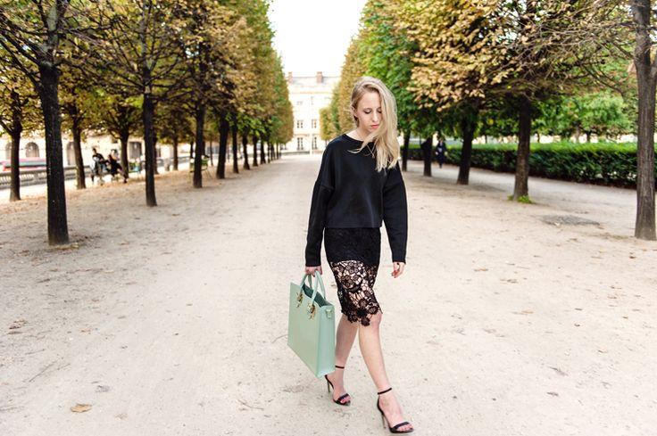 Paris Fashion Week / H&M Lace skirt