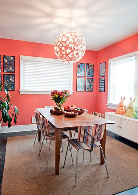 8 best coral- home decor images on pinterest | colors, coral walls